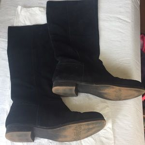 Nine West Leather Boots Size 6 1/2